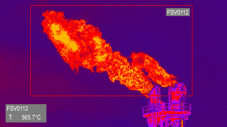 Flare Stack Monitoring