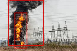 electrical fire smoke