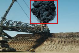 mining fire & smoke